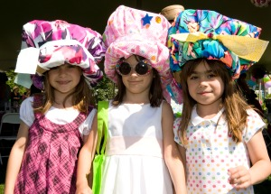 Young Mad Hatter's Wearing Their Hand Made Hats!