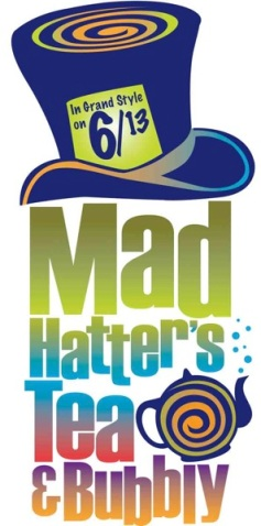 Mad Hatter Tea and Bubbly Logo