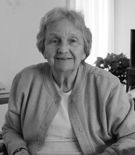 Dr. Carol Lee Phillips at her home in Burlington, January 2014.